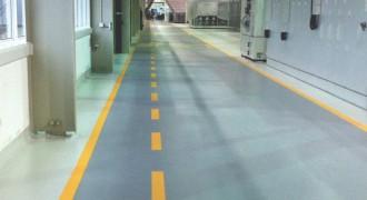 上海大众工厂地坪