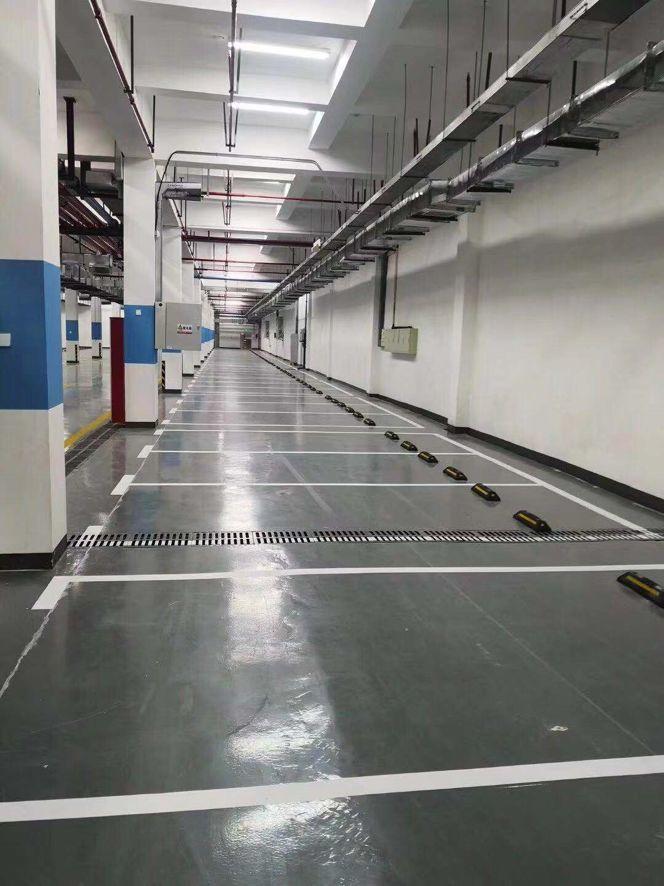 体验升级!本色水泥基自流平系统重塑2万平地下车库,不仅仅是感官