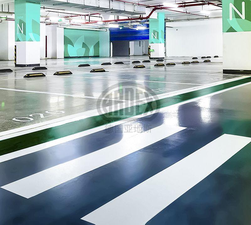 【案例分享】ARDEX地坪以多变色彩打造南京华彩天地潮流时尚地库